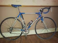 """853 """"JOE WAUGH"""" ROAD BIKE, ELECTRIC BLUE/OFF WHITE PEARLESCENT. A RARE FIND 700 OBO TAKES HOME"""