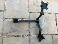 Duronics double monitor arm stand
