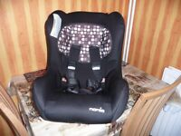 Nania Childs Car Seat. Group 0-1-2 for 0-25 kgm for approx up to 3 years