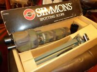 Simmons Target Spotting Scope with tripod