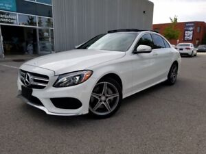2015 Mercedes-Benz C-Class C300 4MATIC ONE OWNER LOW KM