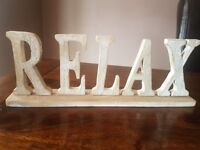 RELAX in wood