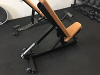 Incline commercial weights bench
