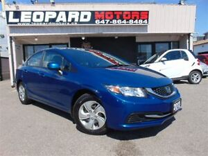 2013 Honda Civic LX,Heated Seats,Bluetooth*Certified*
