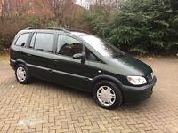 Vauxhall Zefira 1600. Full Mot