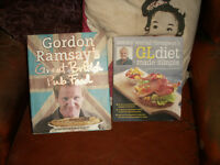 Cookery books - Gordon Ramsay & Antony Worrall Thompson