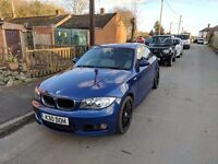 BMW 120D M Sport LEMANS Blue With Full Leather interior. £5200 ono