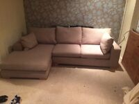 Corner chaise sofa from Next