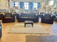 Saxon Chesterfield sofas for sale 4 pieces