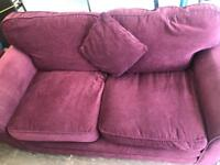 2x 2 seater sofas in good condition.