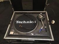 Technics sl1210 mk2 record dj turntable