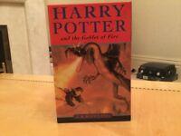 Harry Potter boxed set paper backs x4