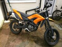 KSR Moto TW 125cc Very Low Millage