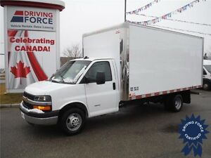2016 Chevrolet Express 4500 Cube Van - Remote Start - Bluetooth