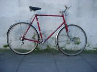 Original Mens Road/Touring/Commuter Bike Falcon, 63 cm, Reynolds 531, JUST SERVICED/ CHEAP PRICE!!!