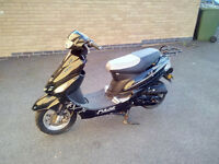 Pulse bt 49 qr-9d1 four stroke scooter moped bike recent MOT great condition