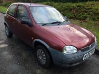 Vauxhall corsa 1.0 petrol mot till may 2017 great condition very cheap car to run