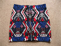 H&M Mini Skirt with Aztec Pattern