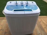 Good Ideas Portable Mini Twin Tub Washing Machine 3.5kg