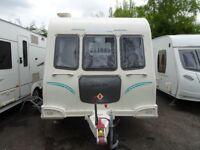 Bailey Olympus 624 Twin Axle Fixed Bed 4 Berth 2011 Carvan