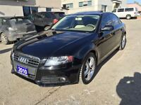 2010 Audi A4 2.0T QUATTRO //SUNROOF//LOW KM//CERTIFIED