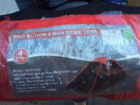 4 man Pro Action dome tent