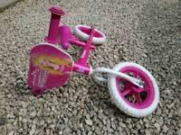Children 2x girls bikes and 1x unisex bike