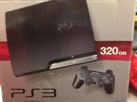 PS3 with 2 controllers & 19 games
