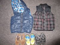 BOY 3-4 years bundle Next trousers shoes body warmers new and nearly new items PICK UP SE14 W1G