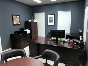 CALGARY: OFFICE SPACE-FULLY FURNISHED & FREE PARKING-$675/MTH