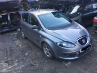 SEAT Altea 1.9 TDI Reference Sport 5dr silver manual (06 - 09) breaking