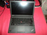 Laptop *** Lenovo ThinkPad X240 Intel Core i5 4210u 1.7 GHz 4 GB RAM 500 GB HDD & Webcam