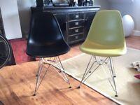ORIGINAL Vitra Eames DSR Side Chairs