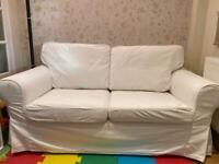 IKEA 2 seater sofa in white
