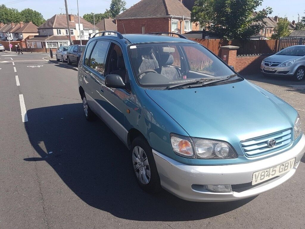 TOYOTA PICNIC 2.2 DIESEL 6 SEATER BRILLIANT VEHICLE SERVICE HISTORY