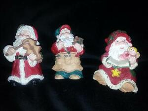 "Enchanted Santas ""JINGLES"" 3 pcs"