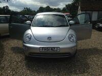 2001 silver Volkswagen Beetle