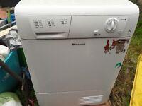 Hotpoint condenser dryer white