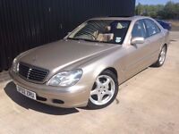 2002 Mercedes-Benz S Class 3.2 S320 CDI 4dr Low Mileage 1Previous Owner From New Huge spec, Diesel