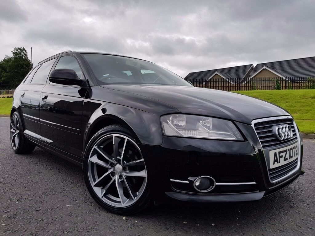 oct 2009 audi a3 1 9 tdi se e sportback 30 road tax heated seats new 18 rs7 alloys in. Black Bedroom Furniture Sets. Home Design Ideas