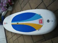 """USED RED MEGA 10'8 x 36"""" INFLATABLE STAND UP PADDLEBOARD"""