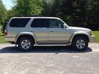 2002 Toyota 4 Runner Limited Edition