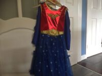 Girls Wonder Woman outfit age 9-10