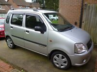 Suziki WagonR, reliable, low mileage, 2 previous owners, service history, MOT Nov 2017