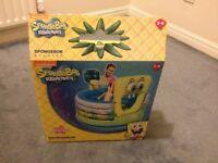Spongebob inflatable bouncer for children
