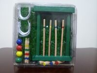 Miniature Backyard Croquet set - New