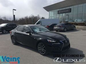 2014 Lexus IS 250 AWD| F-Sport| Navigation| Sunroof