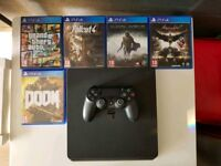 Ps4 slim and games