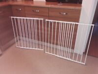 2 baby gates for sale