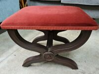 CROSS FRAME FOOTSTOOL GOOD RECOVER PROJECT
